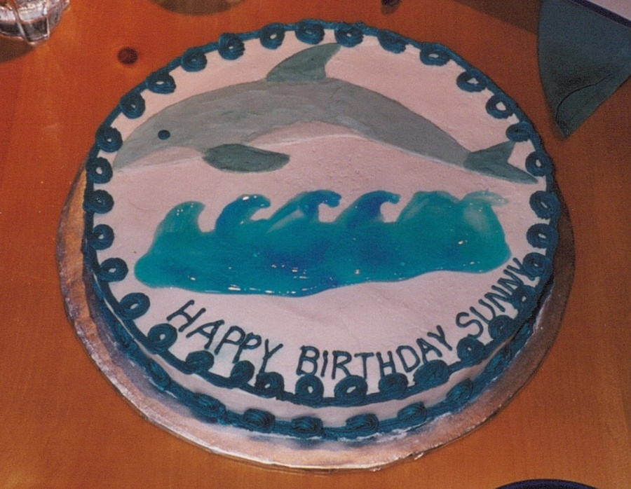 Dolphin Birthday Cake on Cake Central