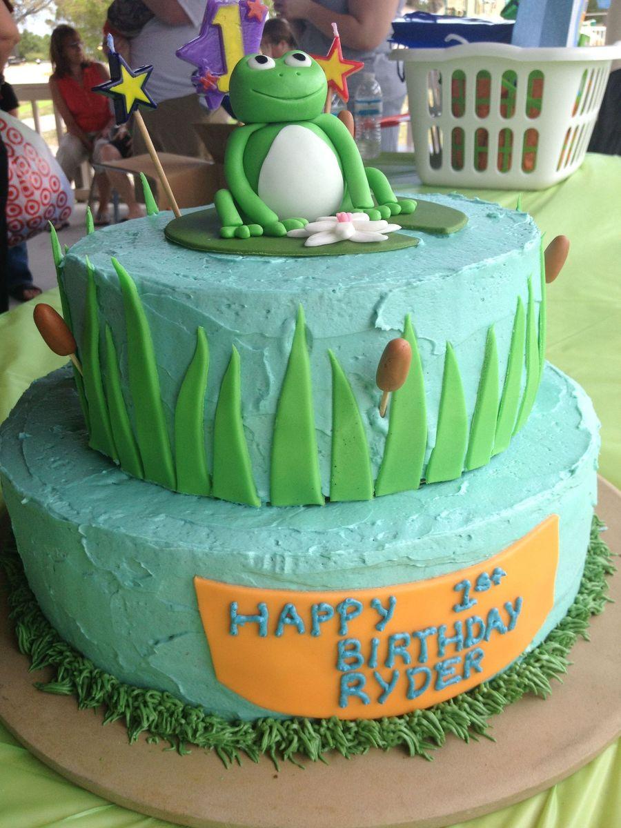 Grass Cake Icing