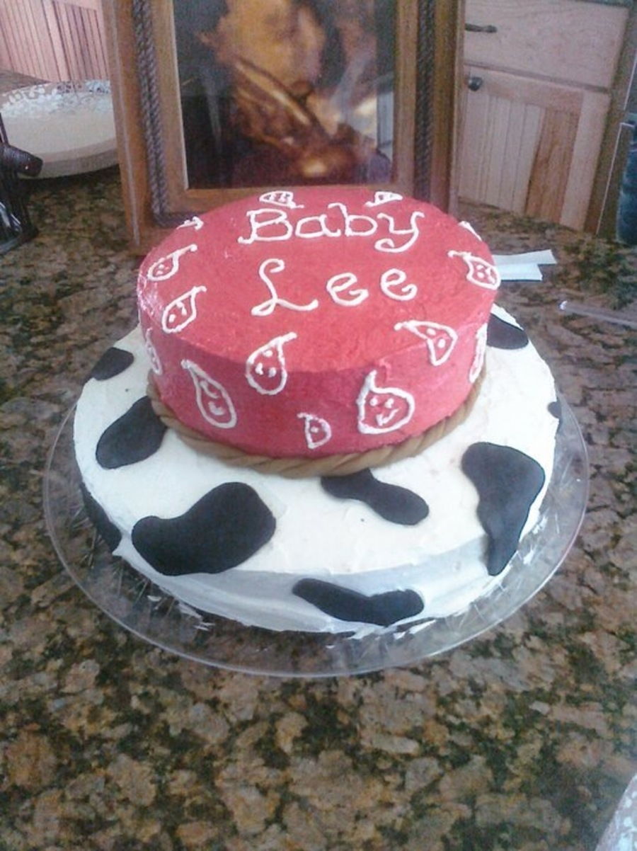 Western Baby Shower on Cake Central
