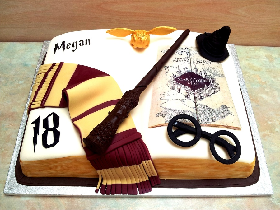 Harry Potter Edible Cake Image