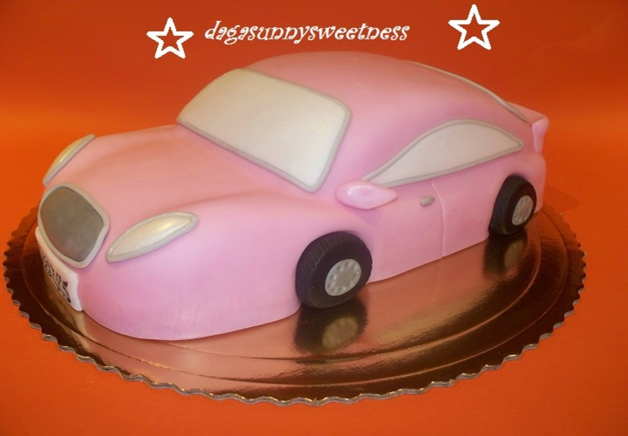Pinc Car Fot Goddess on Cake Central