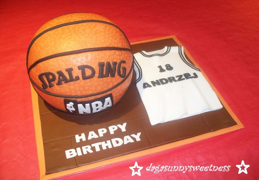 Basketball Cake. on Cake Central