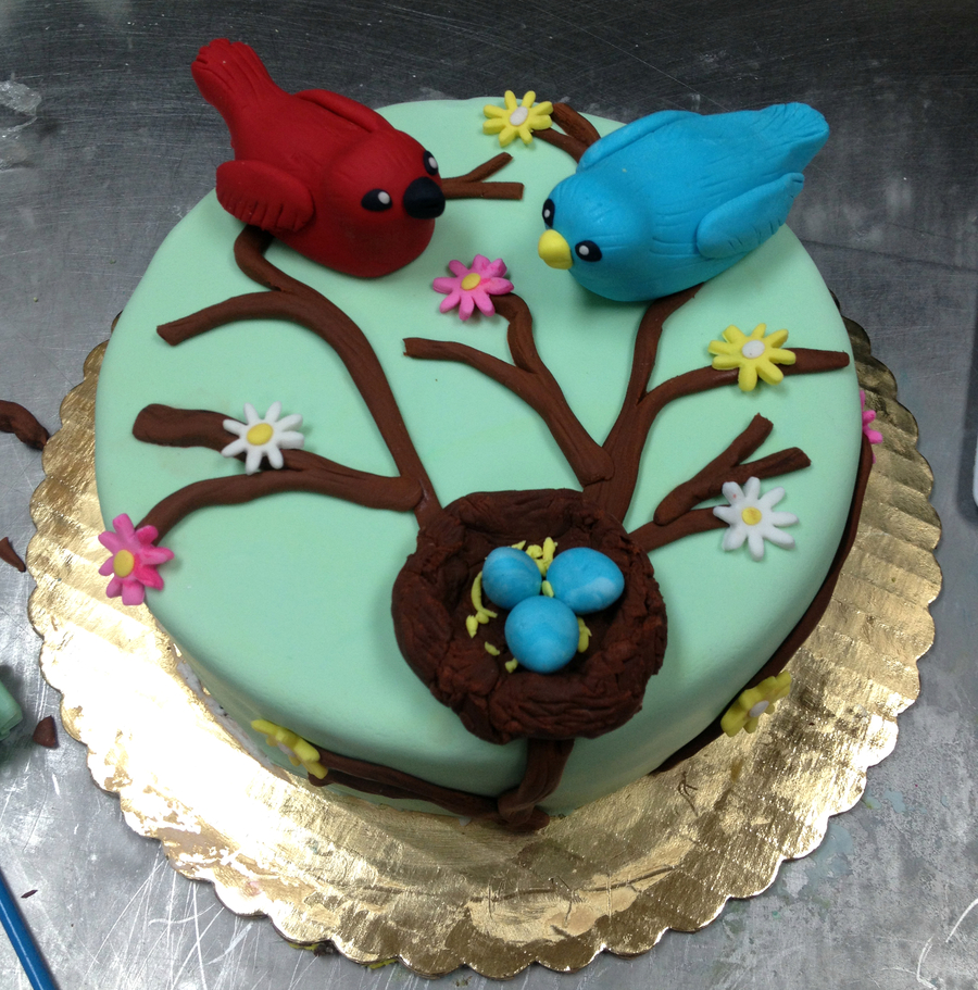 Bird Nest on Cake Central