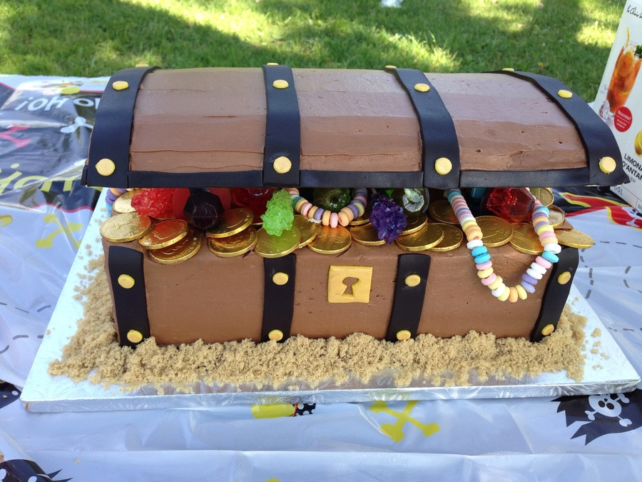 Treasure Chest Birthday Cake Cakecentral