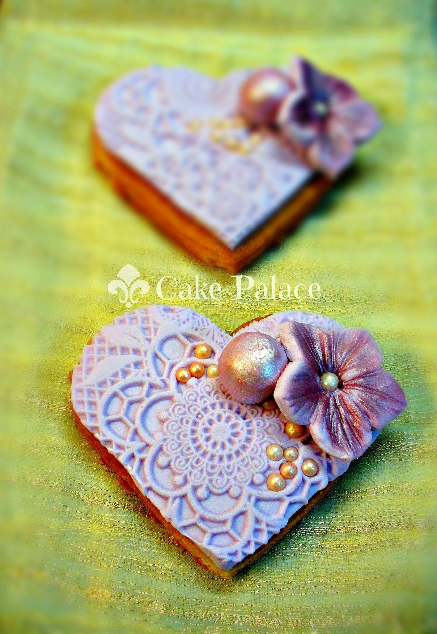 Vintage Lace Cookies - CakeCentral.com
