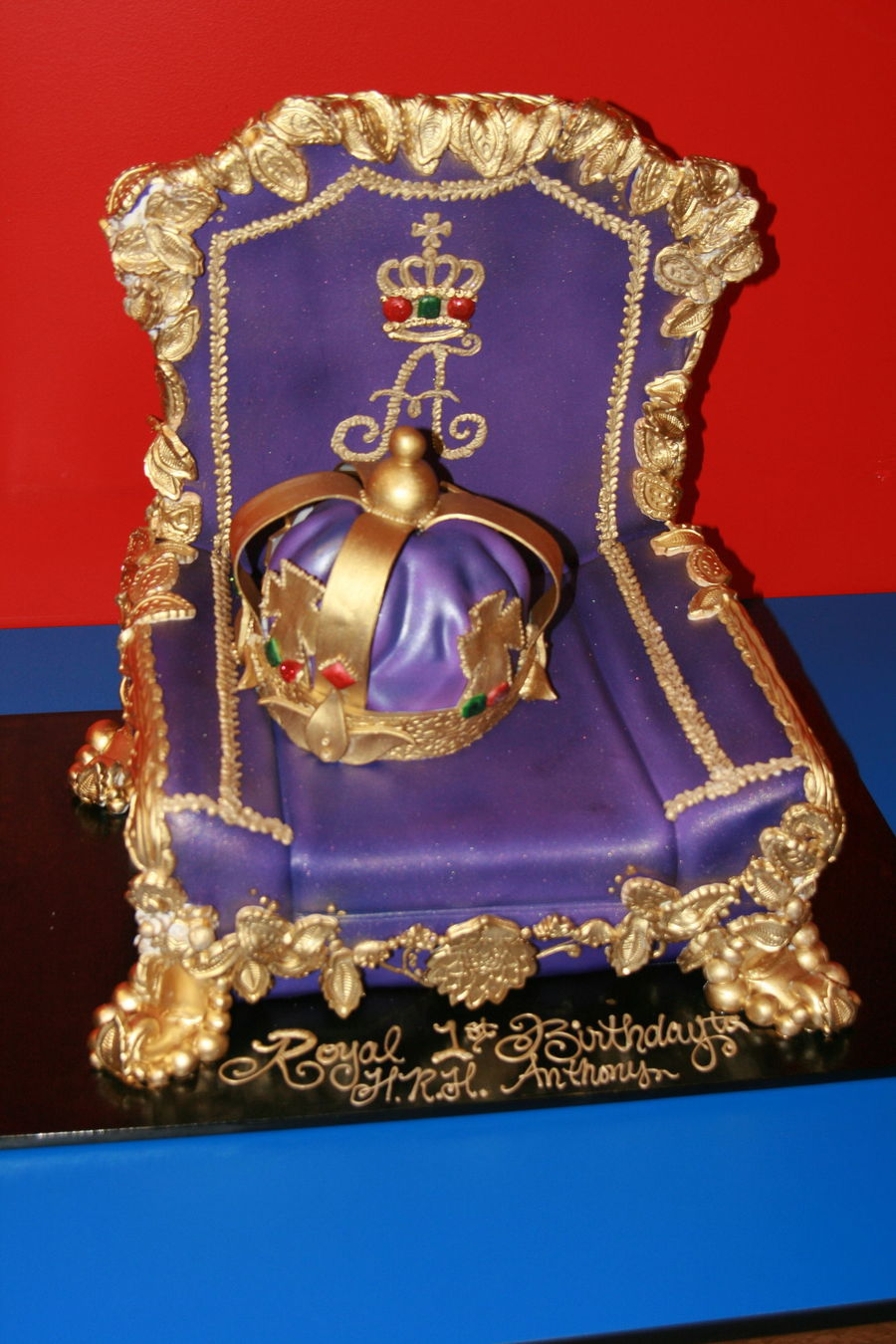 This Wonderful Cake Was Designed For My Sons Royal 1st