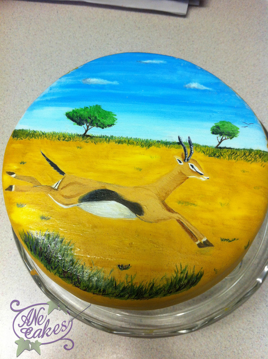 The Antelope on Cake Central