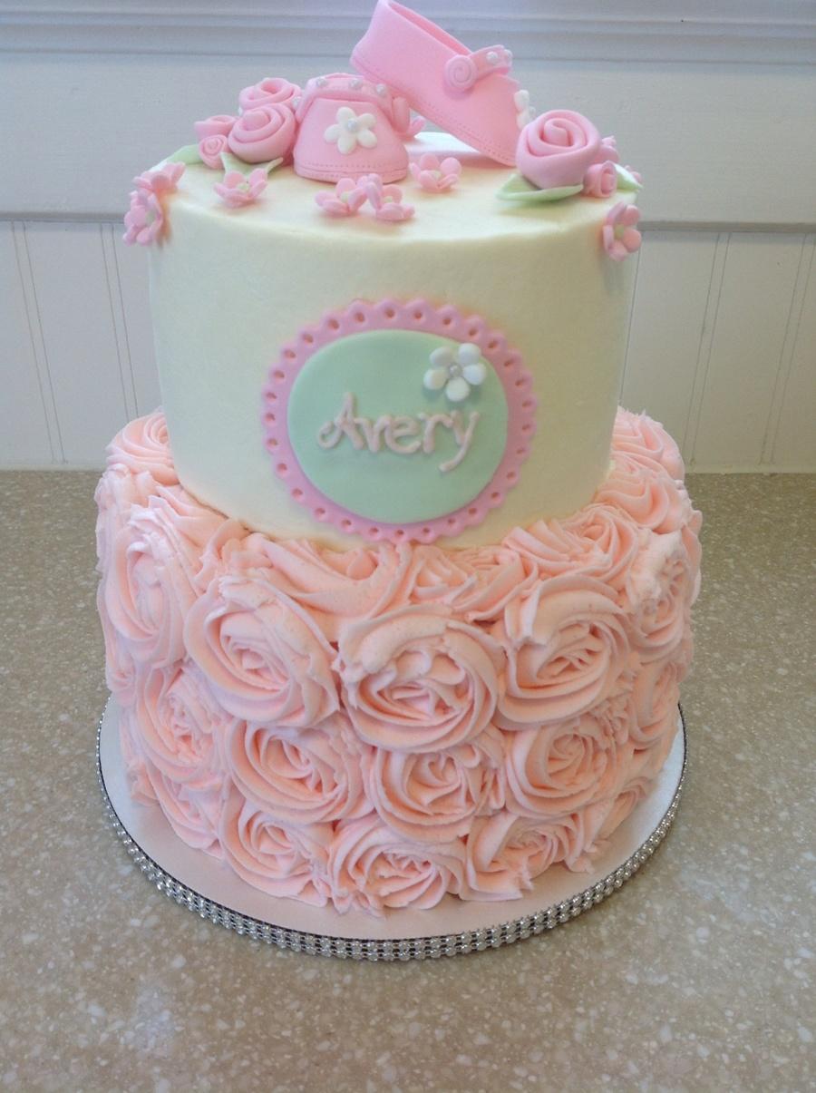 Rectangular Baby Shower Cake