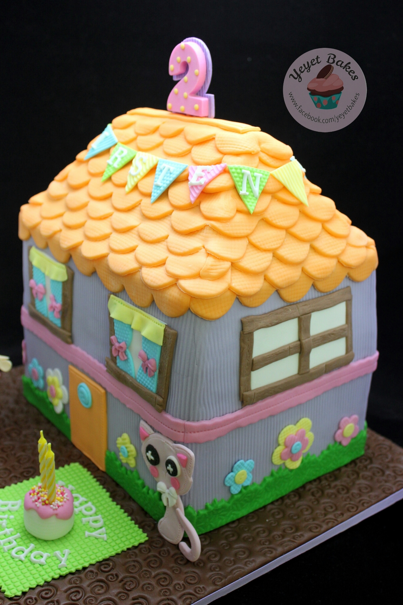 Lalaloopsy Dollhouse Cake Cakecentral Com