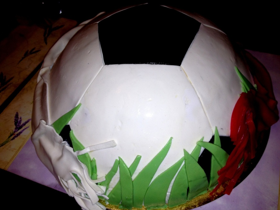 Football Cake  on Cake Central