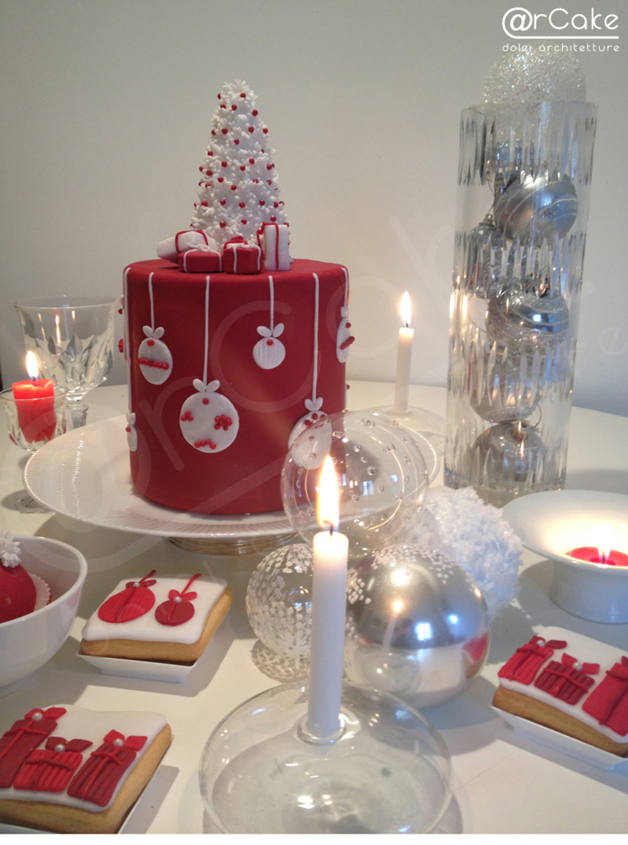 Sweet Christmas Table on Cake Central