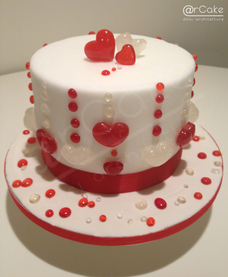 Heart on Cake Central