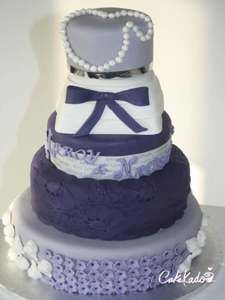 Weddingcake By Cakekado on Cake Central