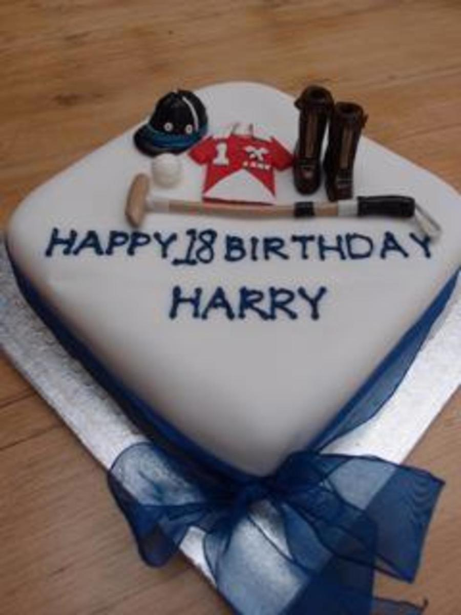 Harry 18  on Cake Central