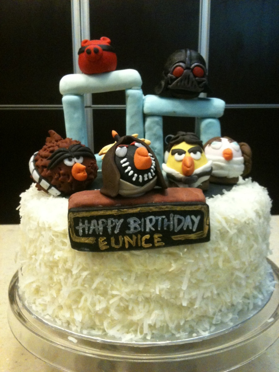 Angry Birds Star Wars Birthday Cake on Cake Central