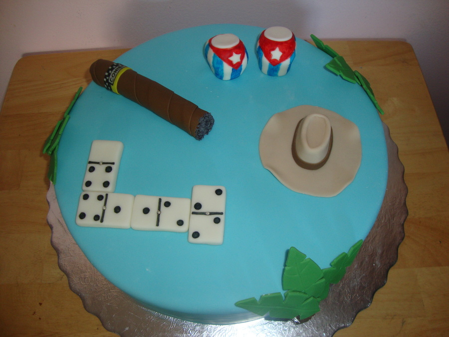 Cuban Themed Cake Cakecentral
