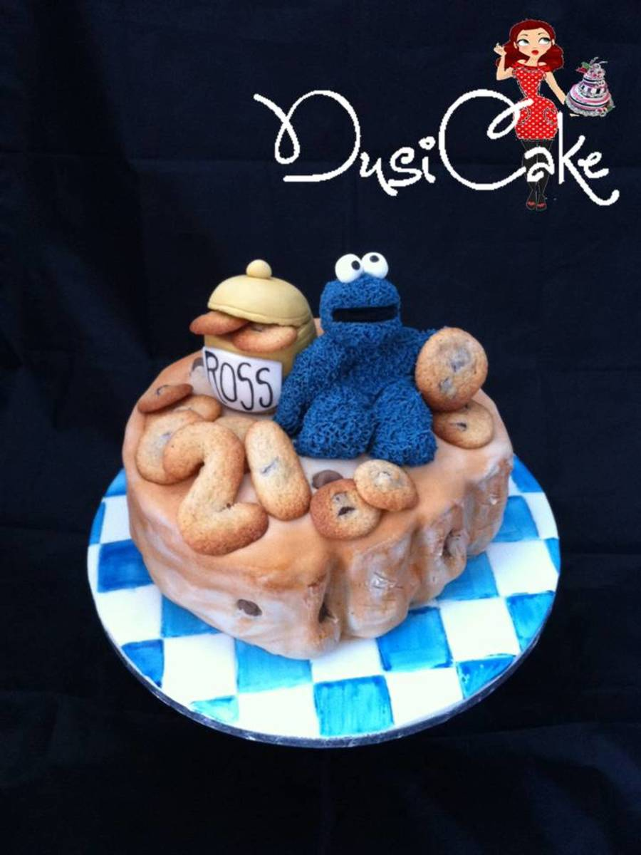 Cookie Monster Take 2 on Cake Central