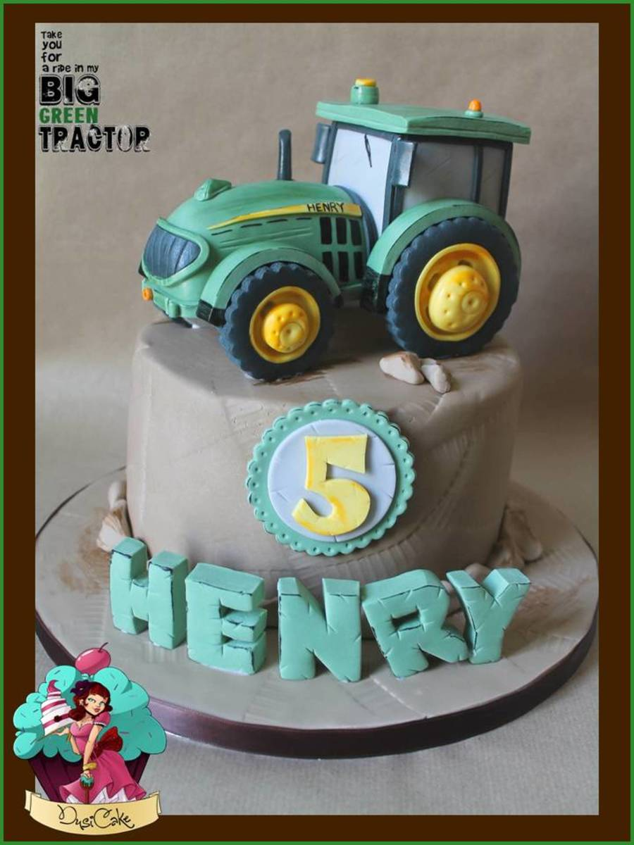 My Big Green Tractor on Cake Central