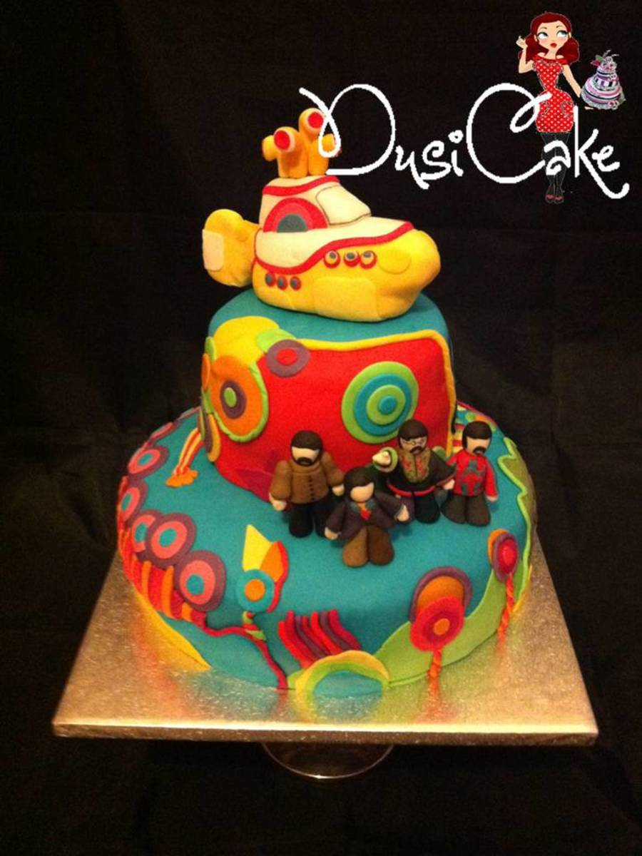 We All Live In A Yellow Submarine! X on Cake Central