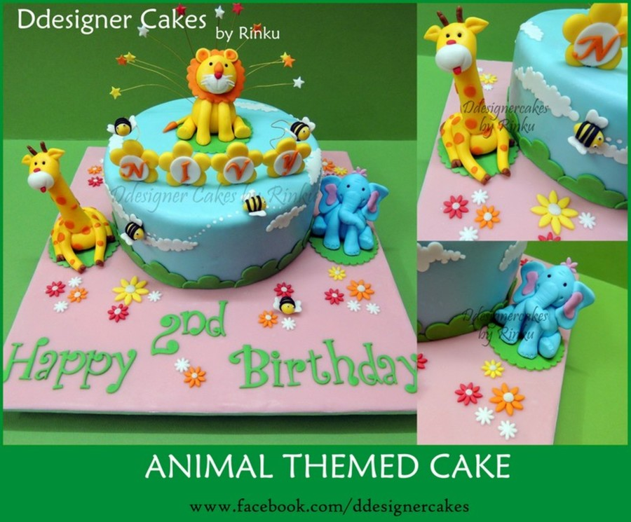 Animal Themed Cake on Cake Central