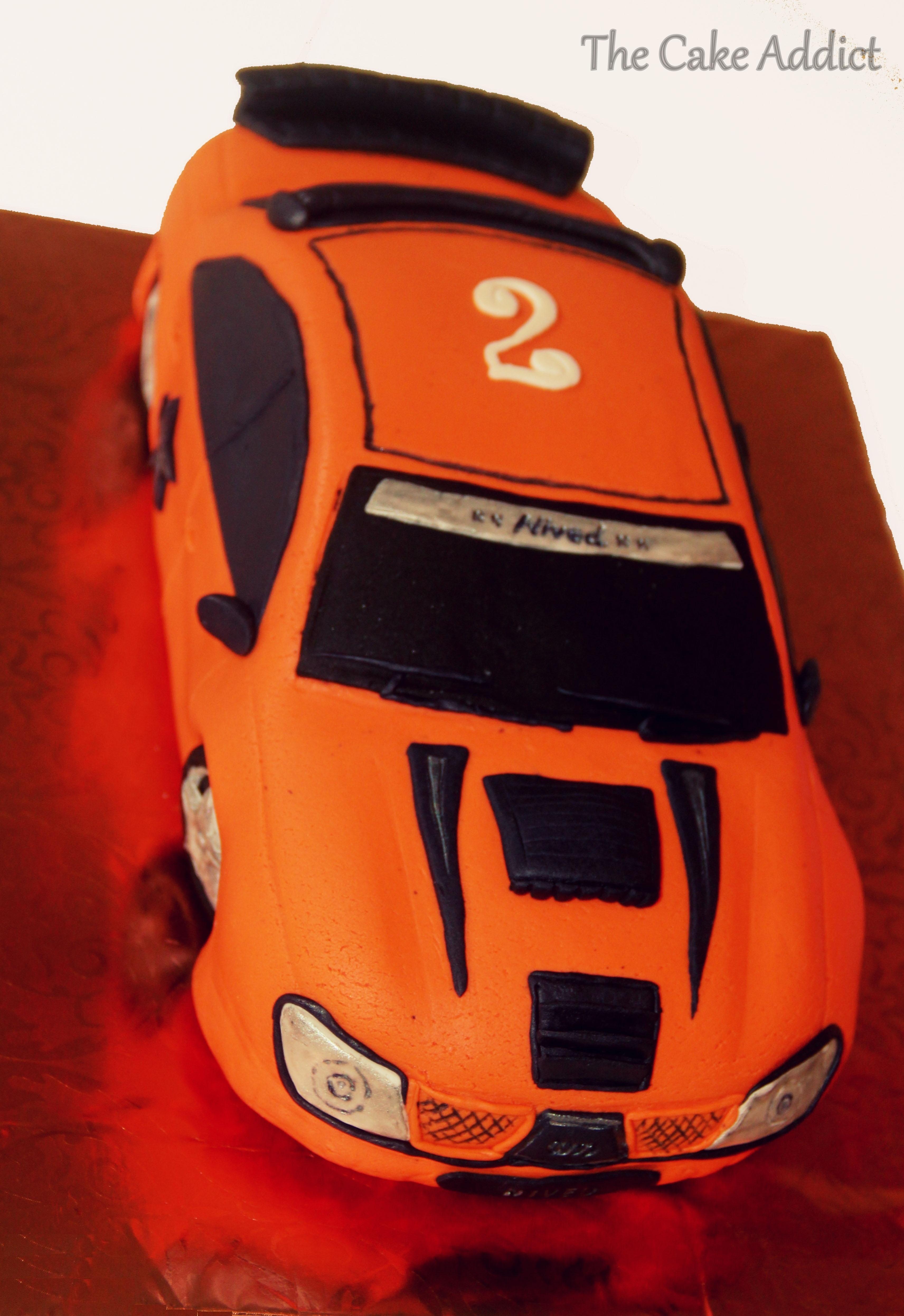 Birthday racing car cake cakecentral racing car cake for my sons birthday baditri Choice Image