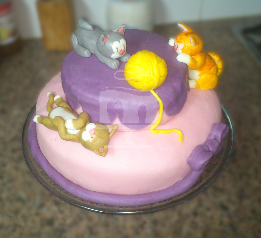 3 Little Cats on Cake Central