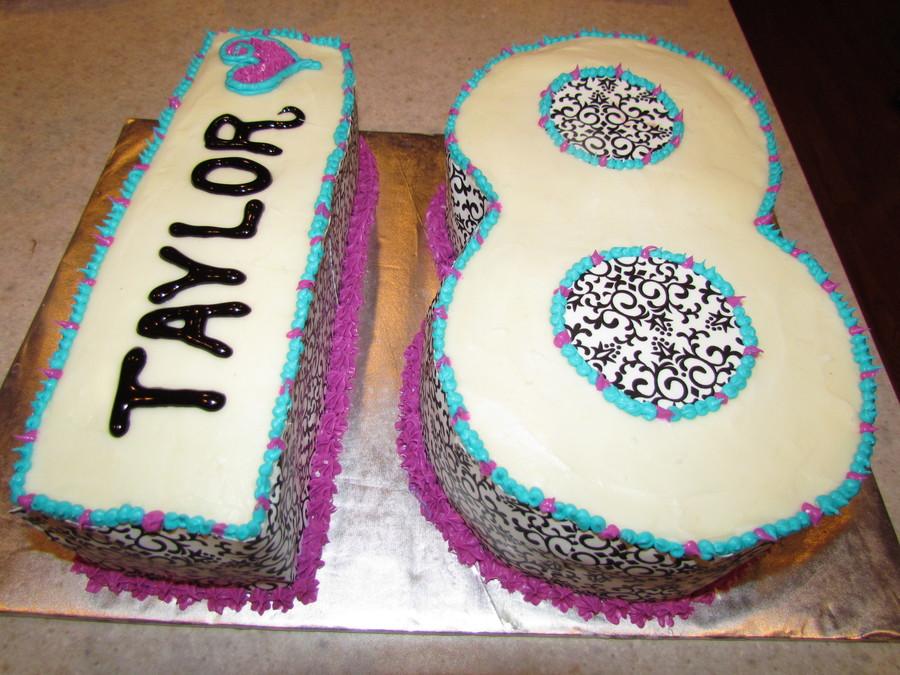 18th Birthday Cake Cakecentral Com