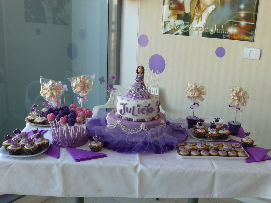 Sofia the First Birthday cake #Sofia #fondant #cake | Sweet ...