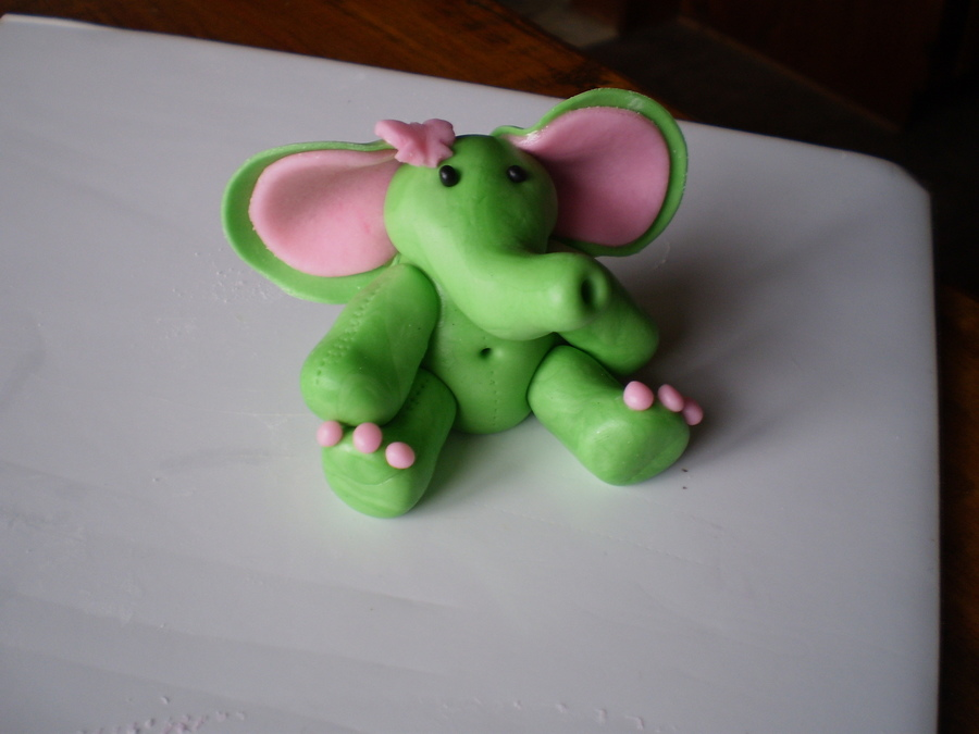 Cute Little Guy For A Girly Safari Cake on Cake Central