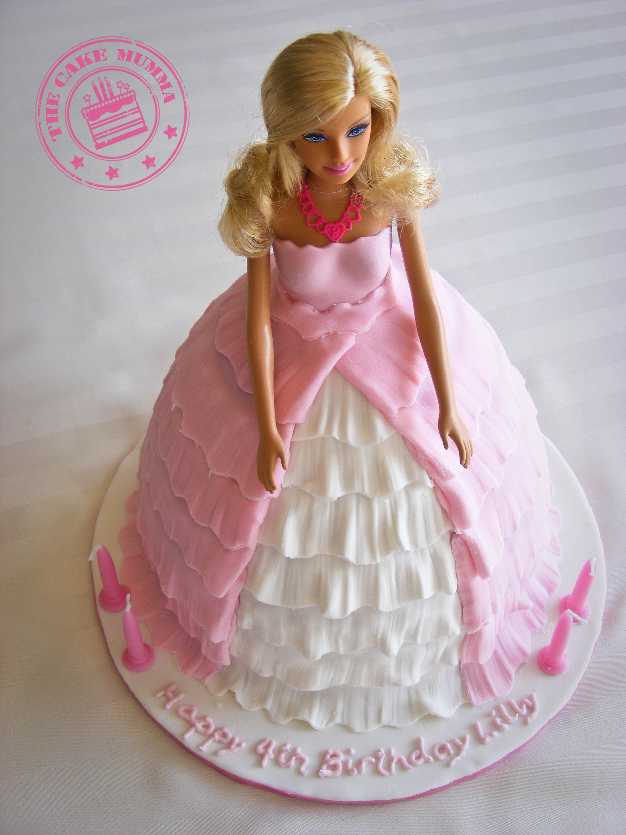 Barbie Cake CakeCentral
