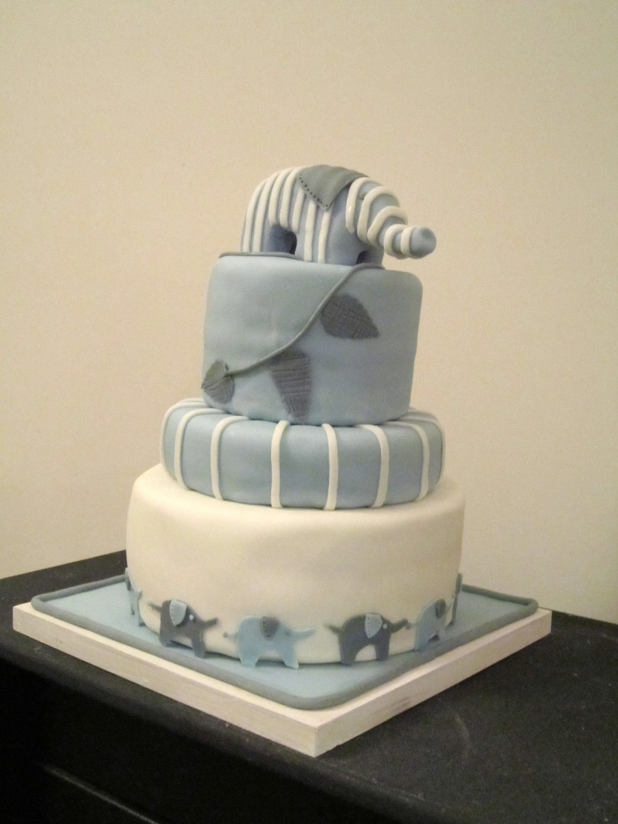 This Cake Was A Adaption Of A Cake A Friend Of Mine Saw On Pintrest Very Happy With The Results on Cake Central