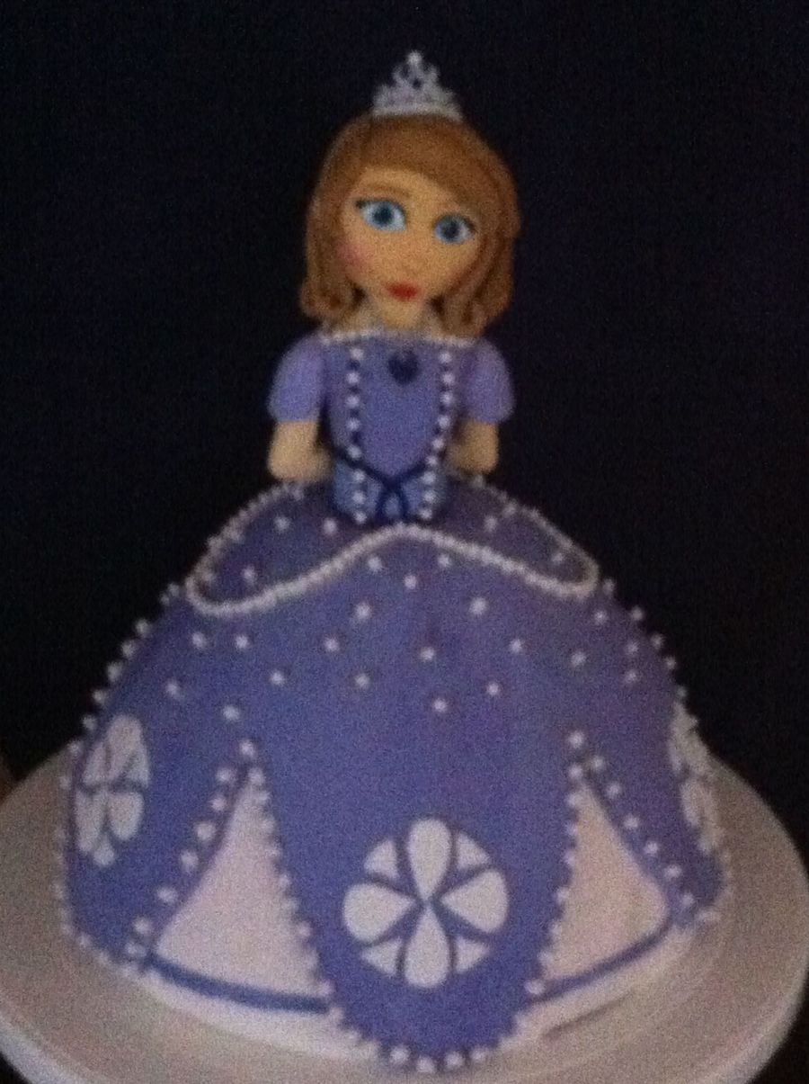 Sofia The First Cake on Cake Central