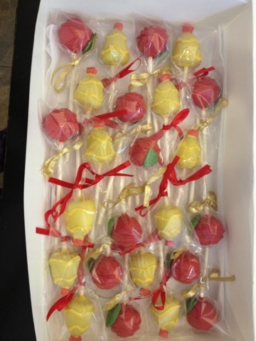 Beauty And The Beast Cupcakes And Cake Pops Cakecentral Com