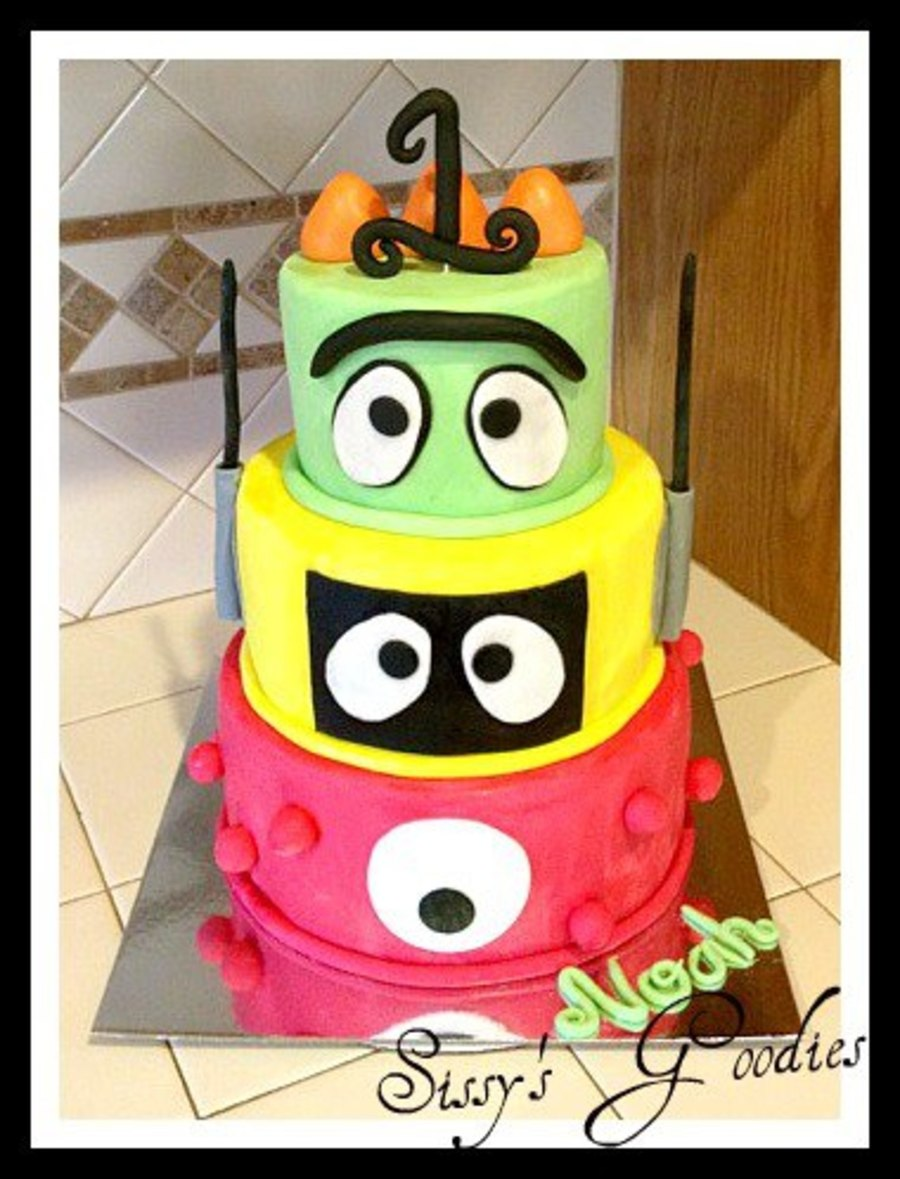 Yo Gabba Gabba Cake! on Cake Central