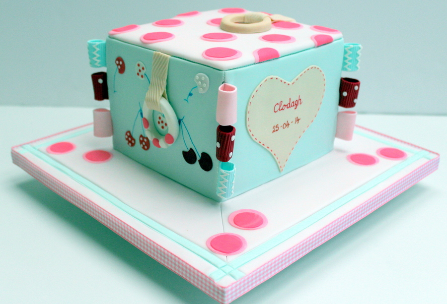 Cake Made To Replicate A Much Loved Homemade Soft Toy on Cake Central