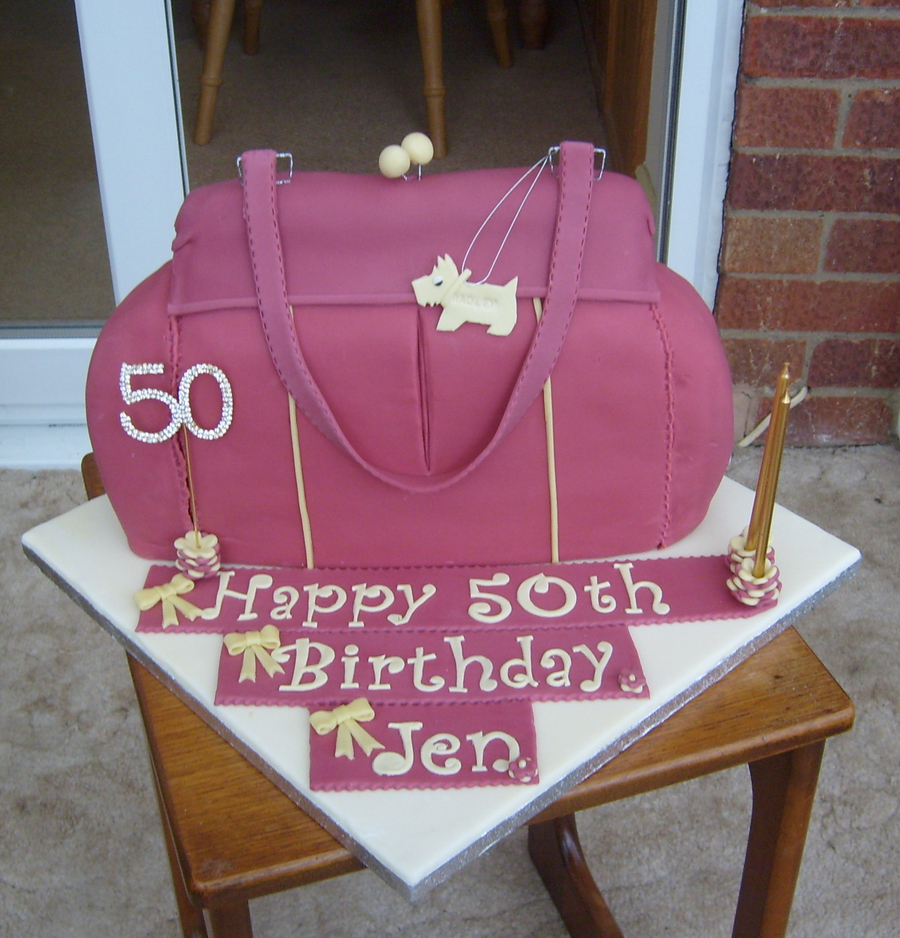 Lead Technologies Inc V101 Radley Bag Birthday Cake on Cake Central