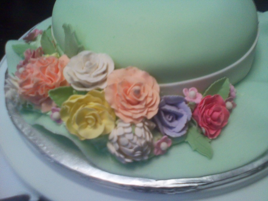 Gum Paste Flowers on Cake Central