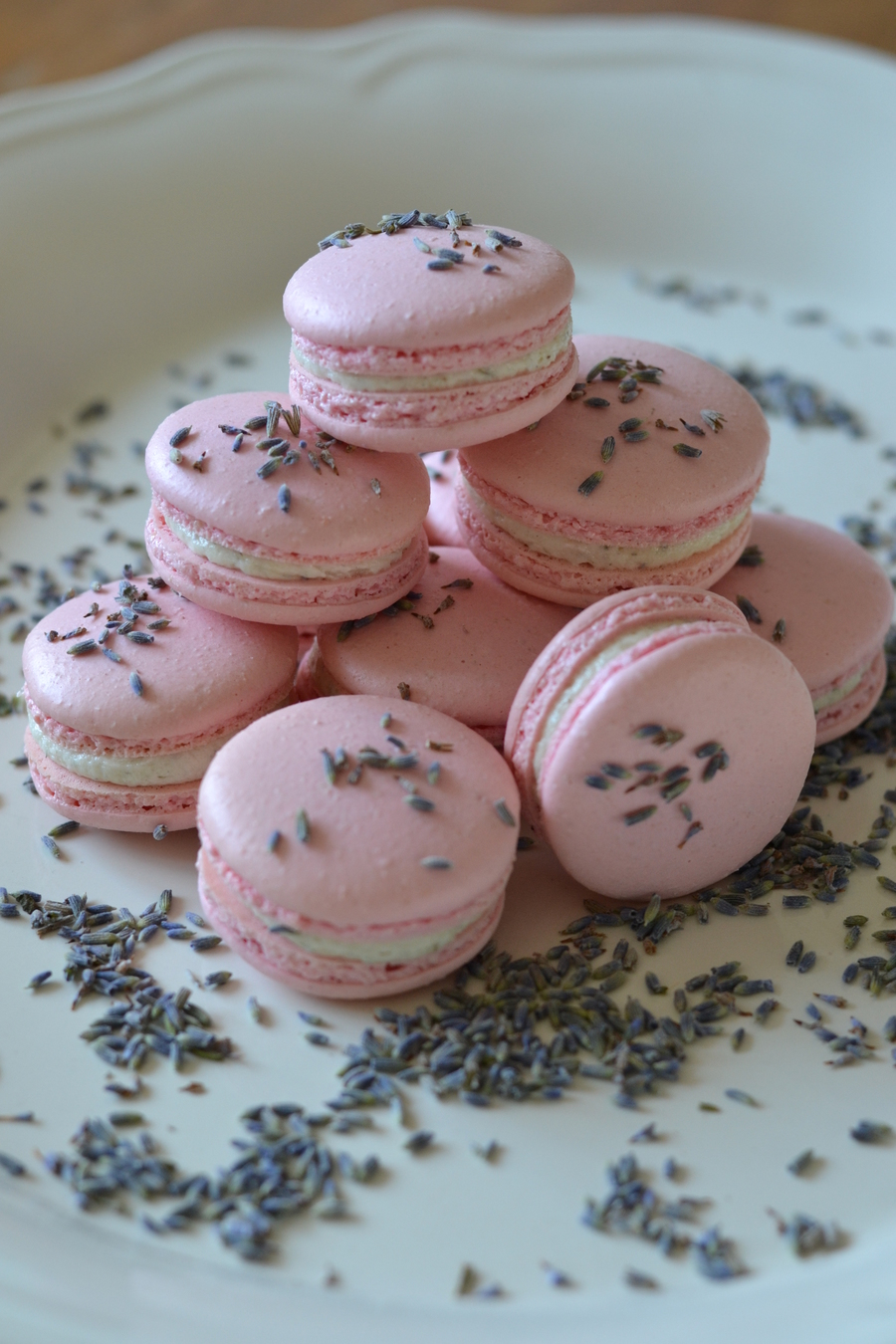 Lavender Amp Honey Macarons  on Cake Central