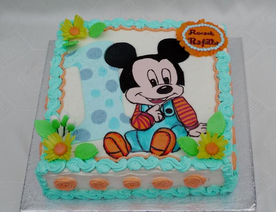 Baby Mickey Mouse Cake Cakecentral Com