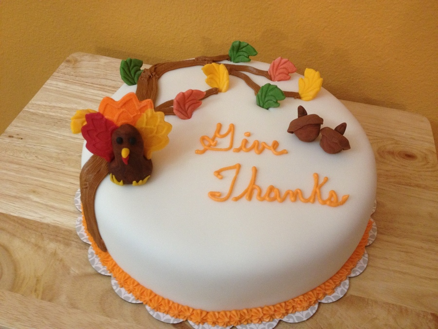 Thanksgiving Cake on Cake Central