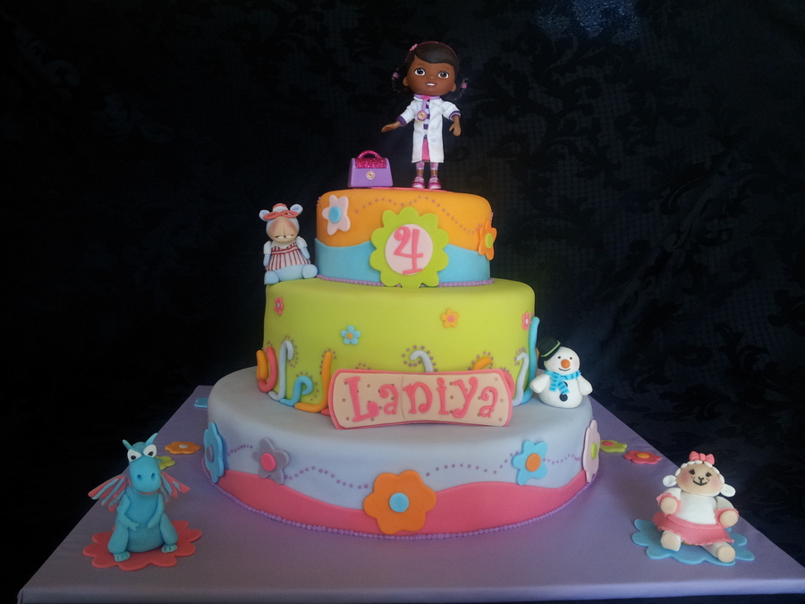 Doc Mcstuffins Birthday Cake on Cake Central