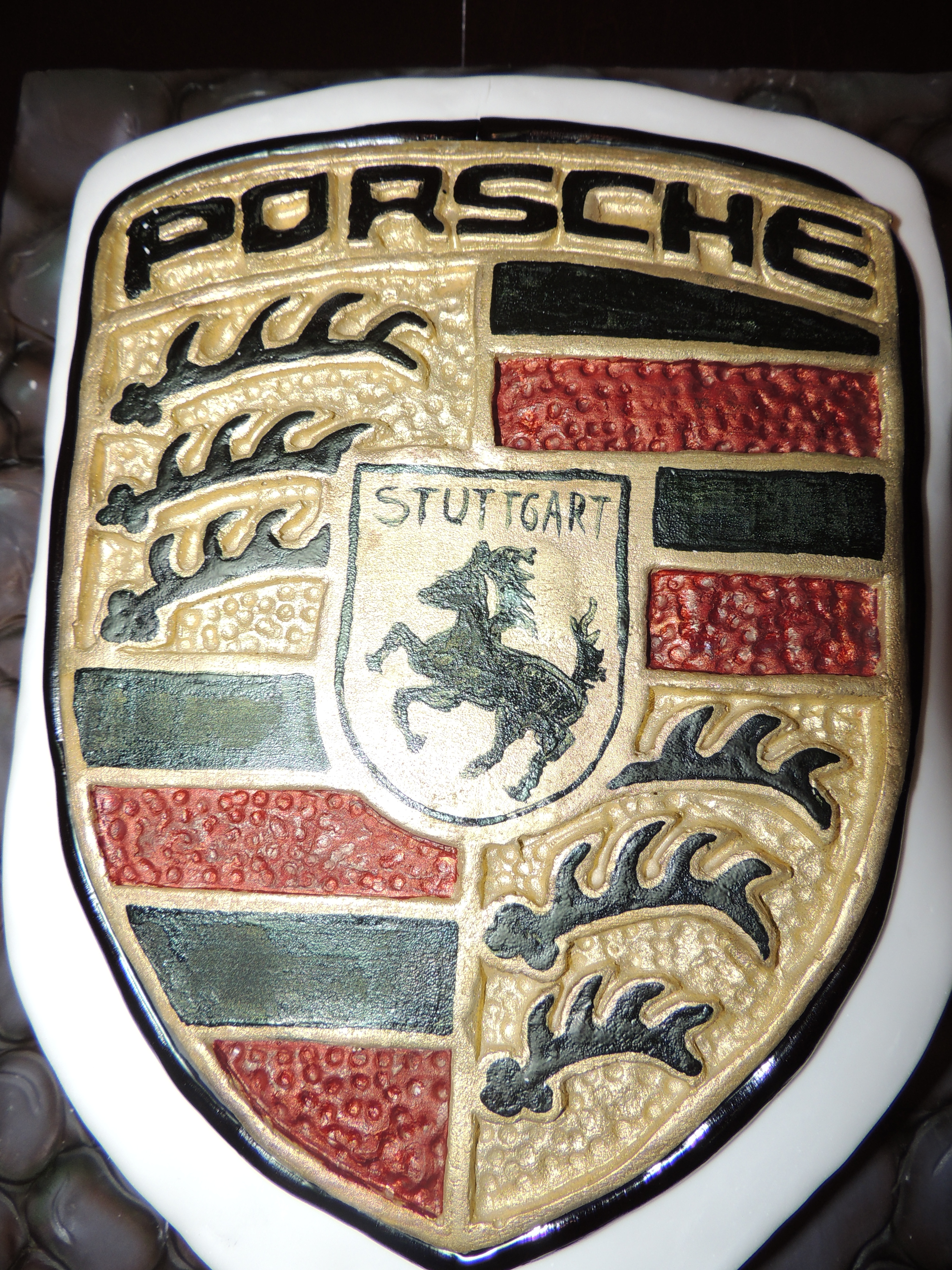 porsche father s day cake cakecentral