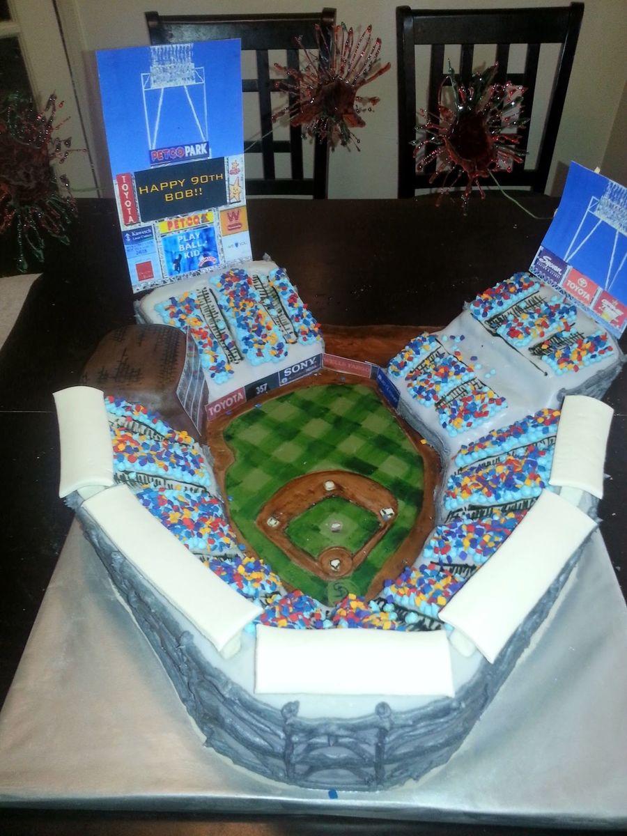 Fantastic Bobs Birthday Cake Petco Park San Diego Cakecentral Com Funny Birthday Cards Online Elaedamsfinfo