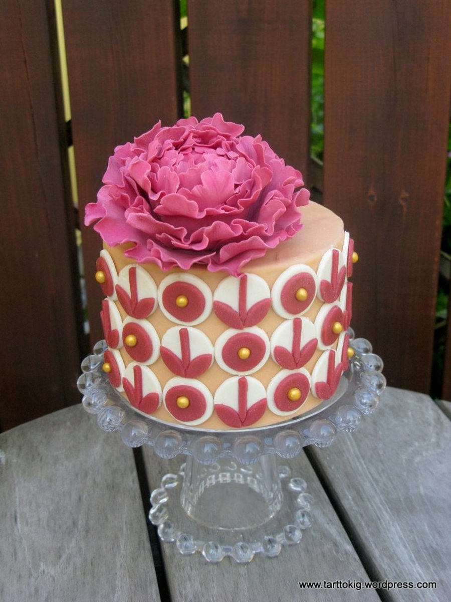 Cake Inspired By A Lovely Perfume Bottle  on Cake Central