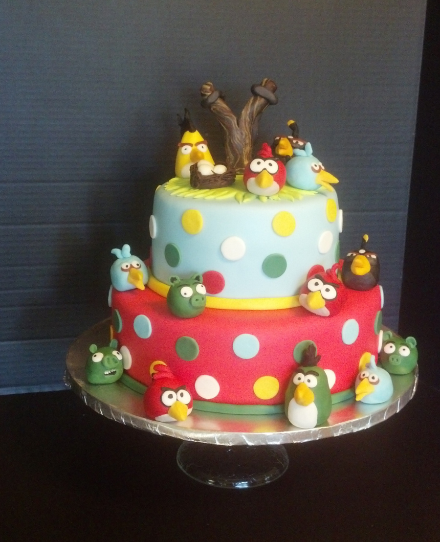 Angry Birds 2012 on Cake Central