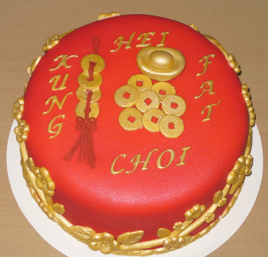 Chinese New Year 2013  on Cake Central
