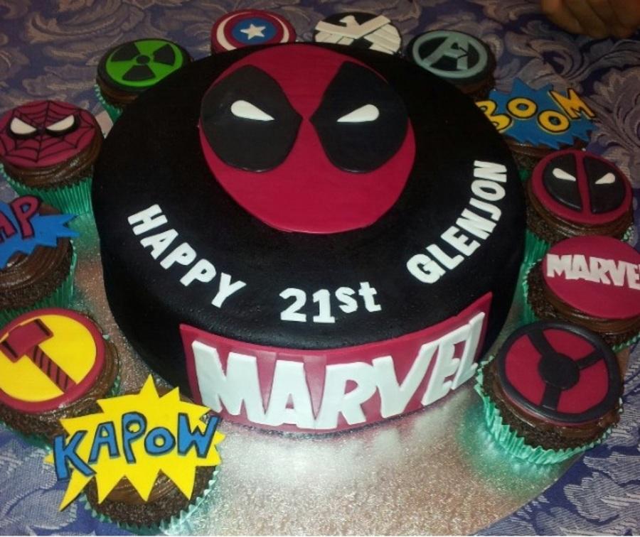 Superb Marvel Birthday Theme Cakecentral Com Funny Birthday Cards Online Elaedamsfinfo
