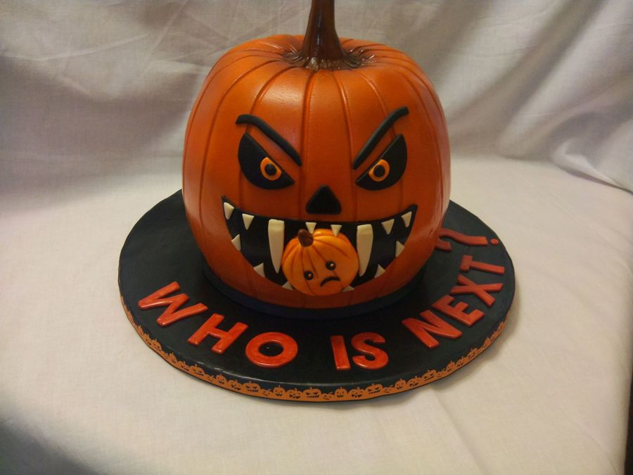 Cake That I Made Last Halloween For Celebration For My Sons Class on Cake Central