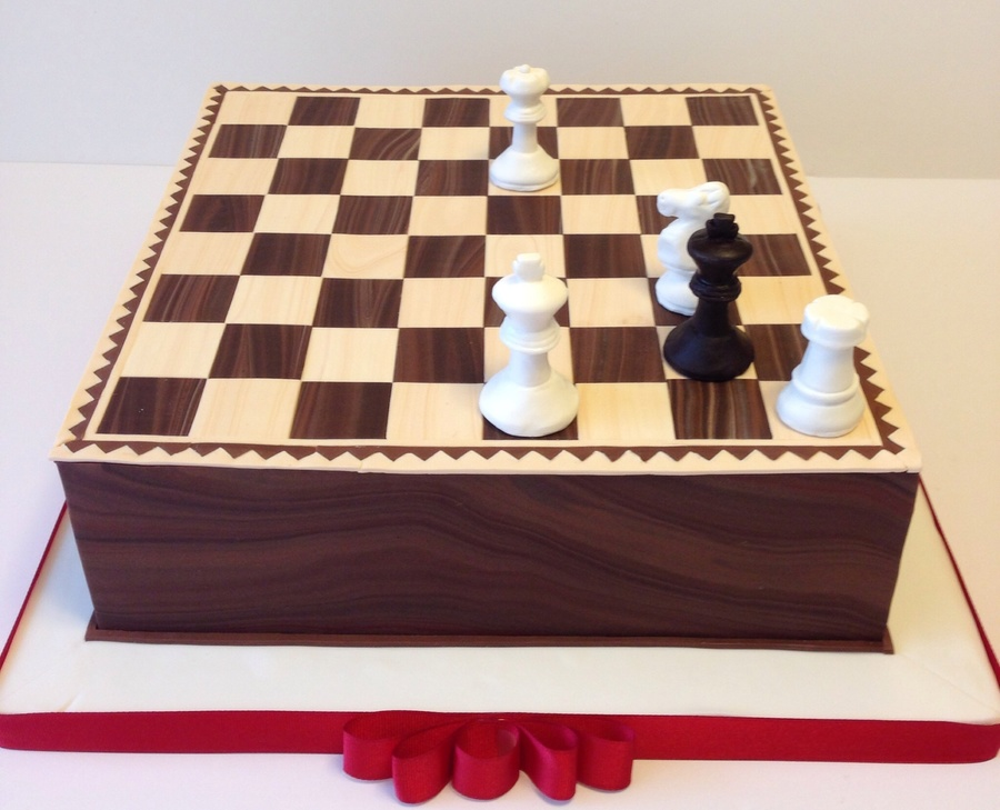 Chess Cake Decorations