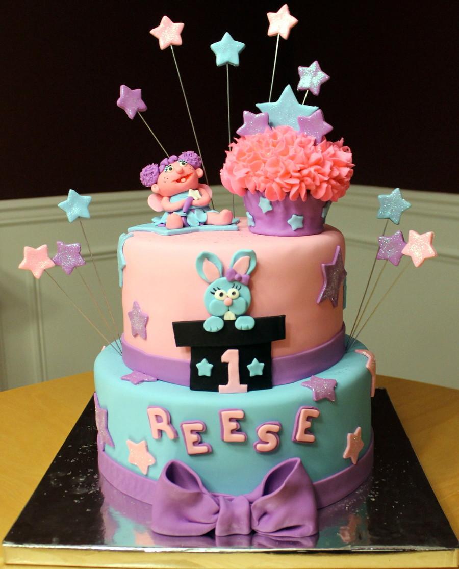 Abby Cadabby 1st Birthday Cake Cakecentral Com
